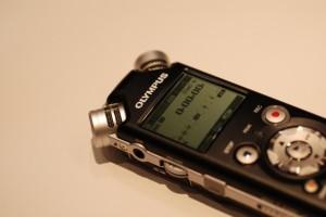 奥林巴斯的录音采访机,做工很好